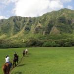 ハワイ2017年1月④~クアロアランチ乗馬、カイルアビーチ、マカプウ岬~