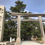 島根・出雲2018年1月②〜出雲大社、稲佐の浜、八重垣神社〜