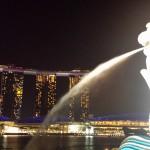 シンガポール2015②~TWG、フラワードーム、クラウドフォレスト、マーライオンパーク~
